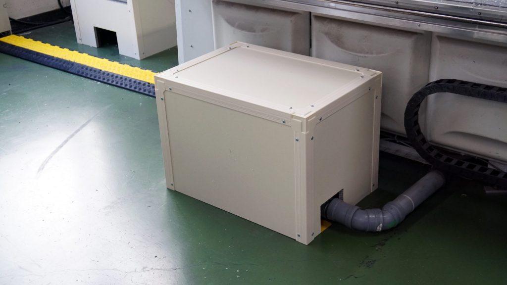 工場内ブロアの騒音対策