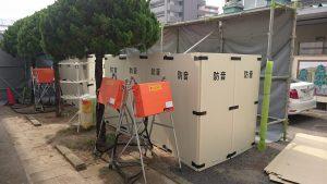 西日本豪雨 避難所への設置(支援)